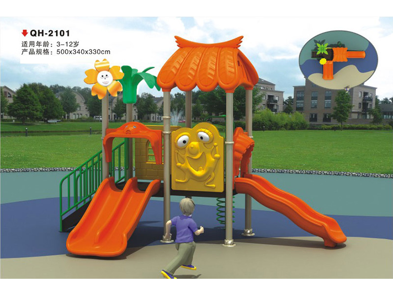 兰州米奇教玩具专业供应幼儿园滑梯 公司坐落于甘肃省兰州市七里河区西津西路兰通厂,凭借着自身优越的地理位置,兰州米奇教玩具的主导产品幼儿园滑梯广泛销售于全国各个地区,并在激烈的游艺设施市场竞争中,不断吸取先进的经营管理理念,不断提升产品质量和服务水平,如今已在游艺设施领域大有名气,是一家可信赖的贸易型有限责任公司。 淘气堡设计以鲜明色调为主,内含柱子部分也包装上色彩。众所周知,儿童对色彩的感觉是很强的,儿童游乐设备的设计如果在色彩方面不足,那么不能说是一个成功的产品。外围以绿、黄两种色度较高的颜色搭配。内部
