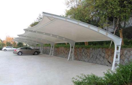机场停车遮阳棚-哪里有提供膜结构车棚