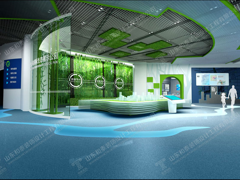 展厅设计装修施工 优质展厅设计装修公司