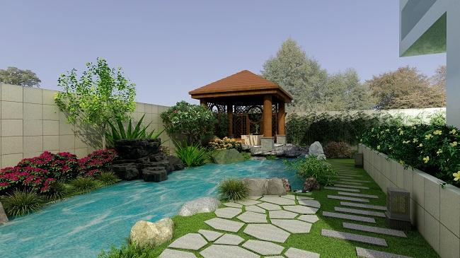 佳艺园林景观设计中是会做的是指风景与园林的规划设计,同时会对