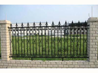 兰州优质的铁艺护栏提供商-武威铁艺大门
