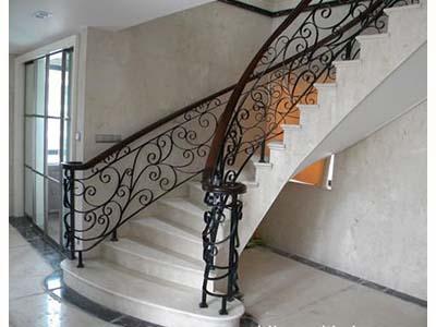 兰州区域专业的铁艺楼梯-甘肃楼梯