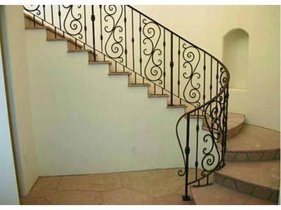 兰州哪家铁艺楼梯供应商好|黄南铁艺楼梯