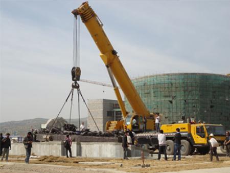 吊装搬运企业整个建筑施工的布置