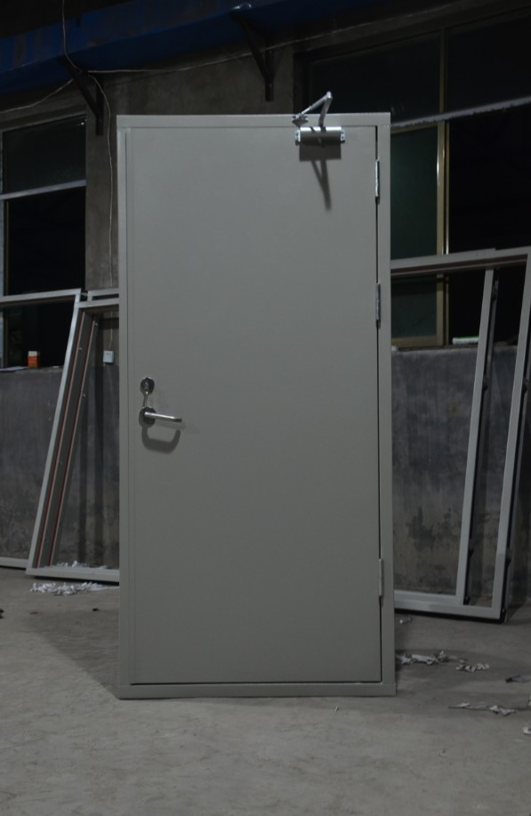鄭州哪裏有專業的鄭州鋼質防火門廠家-漯河鋼質防火門安裝