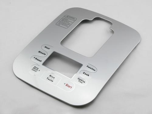想买满意的IML家电面板就到谦威塑胶电子|电饭煲面板FIL43