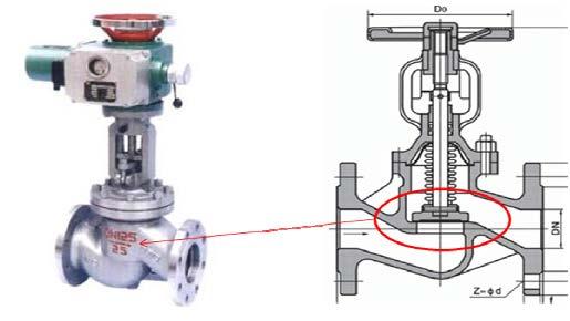 想买精良的填充聚四氟乙烯就到嘉善意德珑 耐高温电动截止阀阀瓣